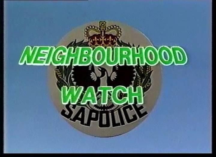 Neighbourhood Watch Logo 1985