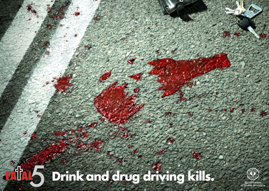 Drink or drug driving KILLS