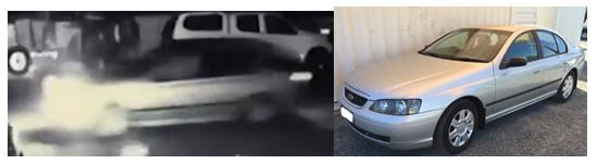 CCTV and a similar vehicle