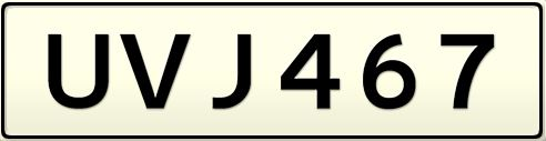 rego plate