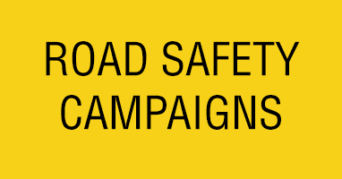 Road safety campaigns